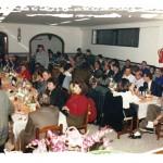 """Última   actividad  en  la  Sede  de  la Sociedad """"El Halcón"""", Navidad 1991."""