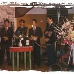 De izquierda a derecha Rafael Gamero, Alfredo Martín, Antonio Mancilla, Germán Domínguez y Rafael Sánchez.