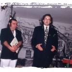 De izquierda a derecha Agustín Delgado y Enrique Morales.