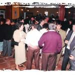 Momentos de la inauguración de la Peña Flamenca.