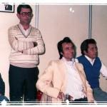 Actuación Sede  Mar  de  Poniente  de  izquierda   a  derecha:  Braulio  López,  Francisco Morales y Antonio Martínez.