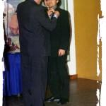 Insignia a David Morales, entrega Antonio Martínez.