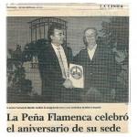 Insignia a Fernando Martín, entrega Pedro Navarro.
