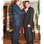 Insignia a Germán Domínguez, entrega Enrique Morales