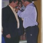 Insignia a Miguel Perea Matías, entrega Francisco Bracho.